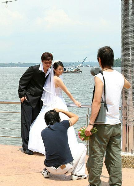 马来西亚美丽的新娘子
