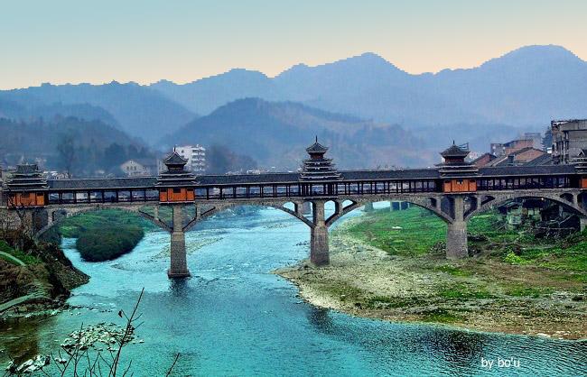 锦屏,赤溪风雨桥