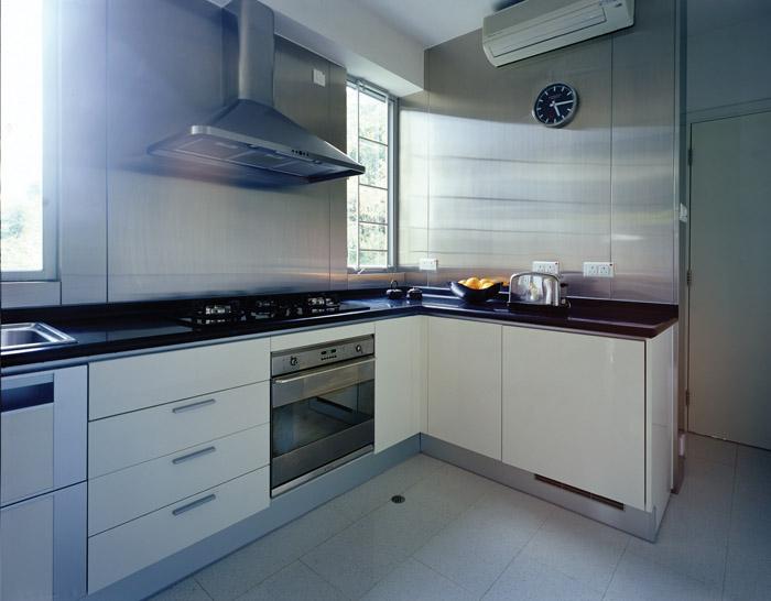 用地板砖做橱柜-瓷砖做厨柜 难以复制的雅致生活