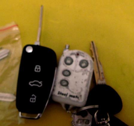 团购 改奥迪A6精仿折叠钥匙高清图片