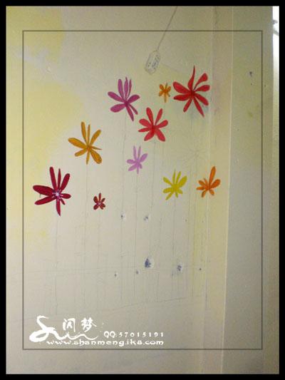 从 龙江 桂城手绘墙画实景