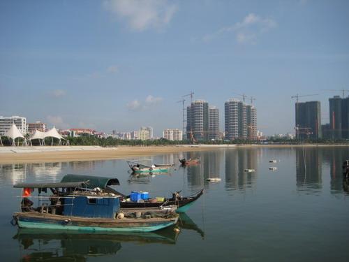 海滨公园 海湾大桥 开发区