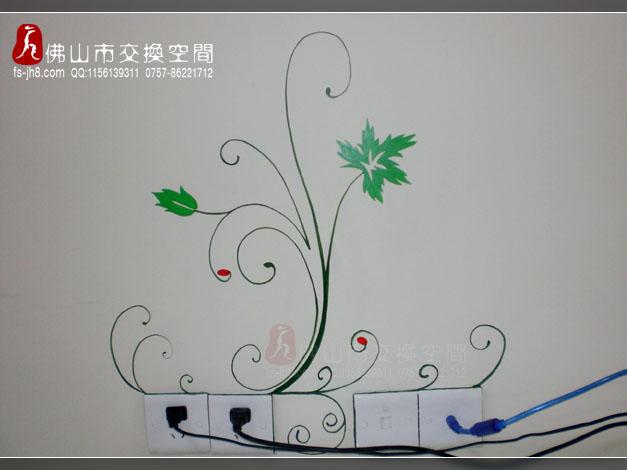 手 绘墙画~~~(p3乐从/龙江/桂城手绘墙画实景)