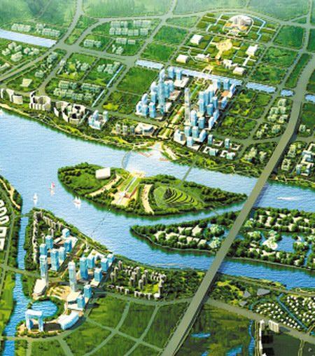 顺德规划德胜河一河两岸 大良容桂之间或建过江隧道轨道交通相连