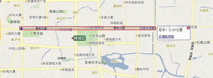 9月28日起季华路(汾江路口到南海大道口段)高峰时段禁行摩托车