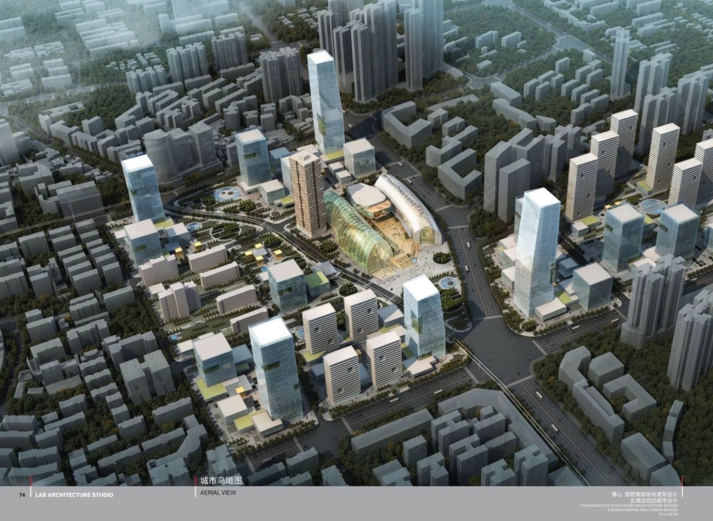 佛山城市中轴线总体规划设计公布 中轴线将建20公里空中轨 .